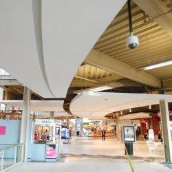 palisades mall interior steel facade framing