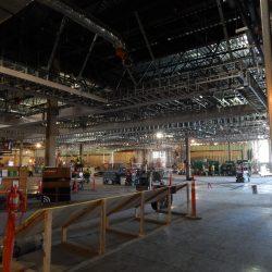 interior light gauge steel framing at fingerlakes casino