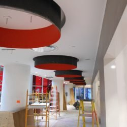 prefabricated ceiling soffit structures