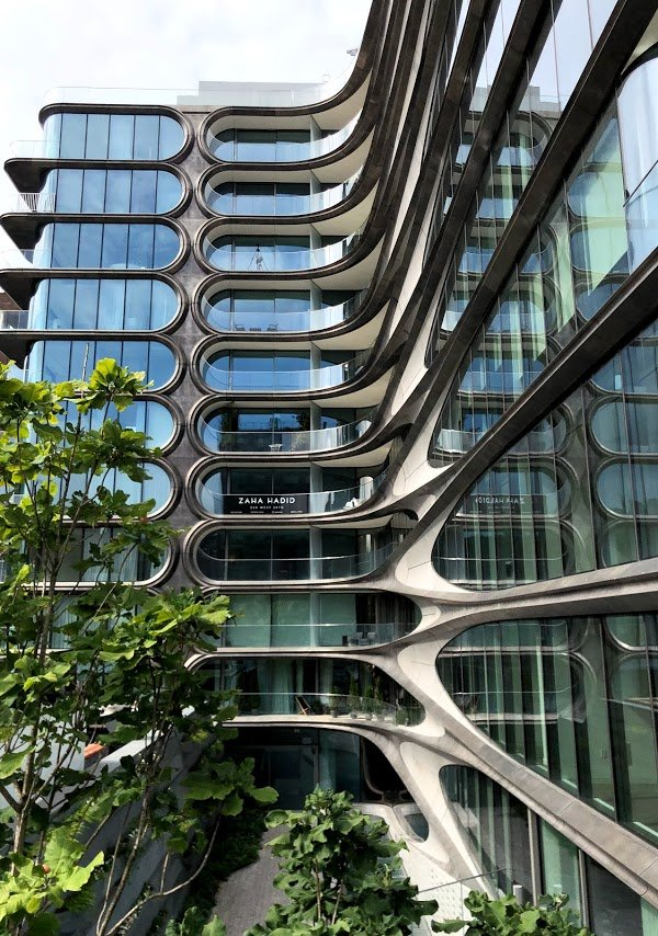 curv trak architecture on luxury apartment complex in new york city
