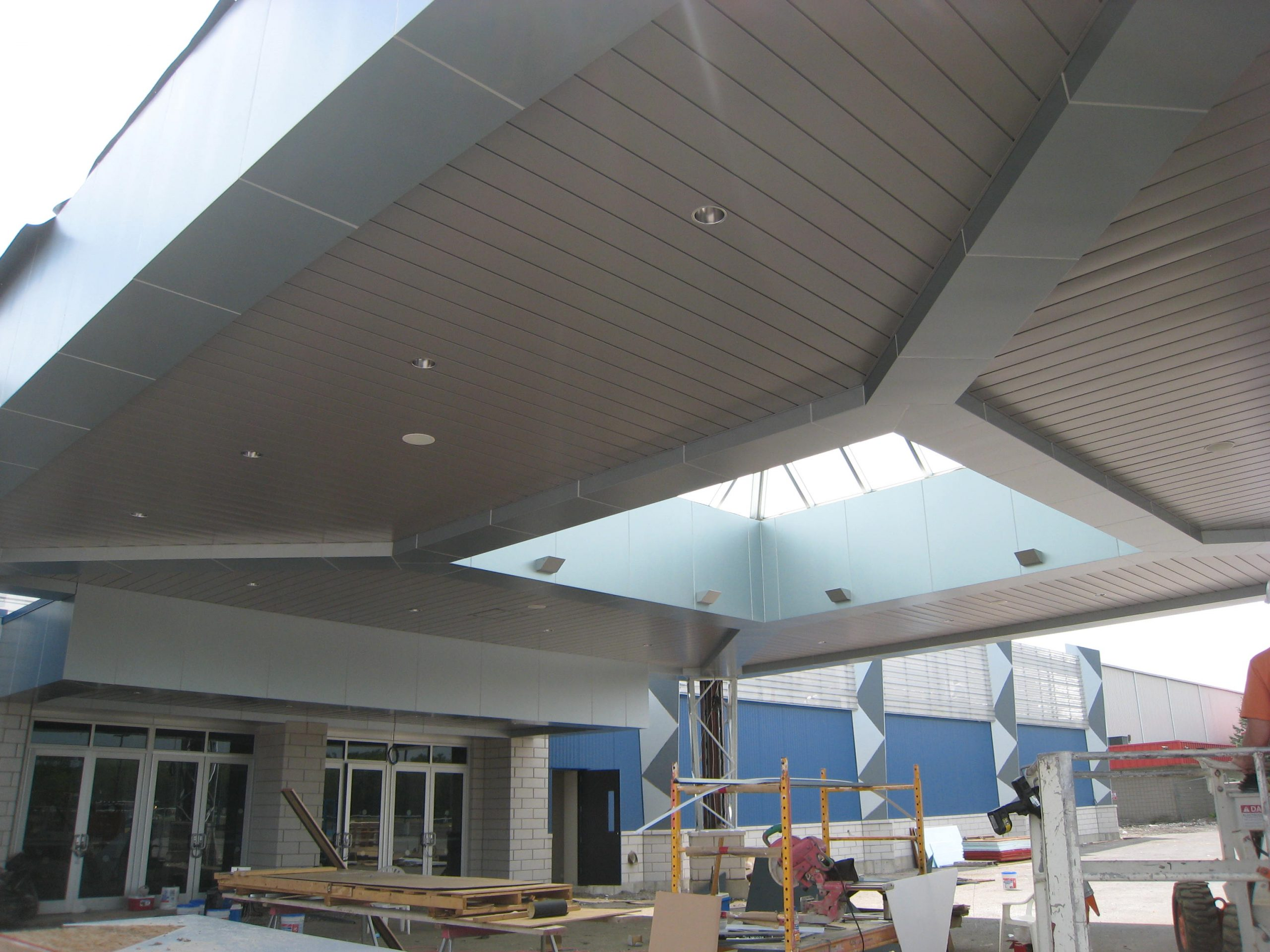 exterior facade and canopy outside hamburg racetrack and casino