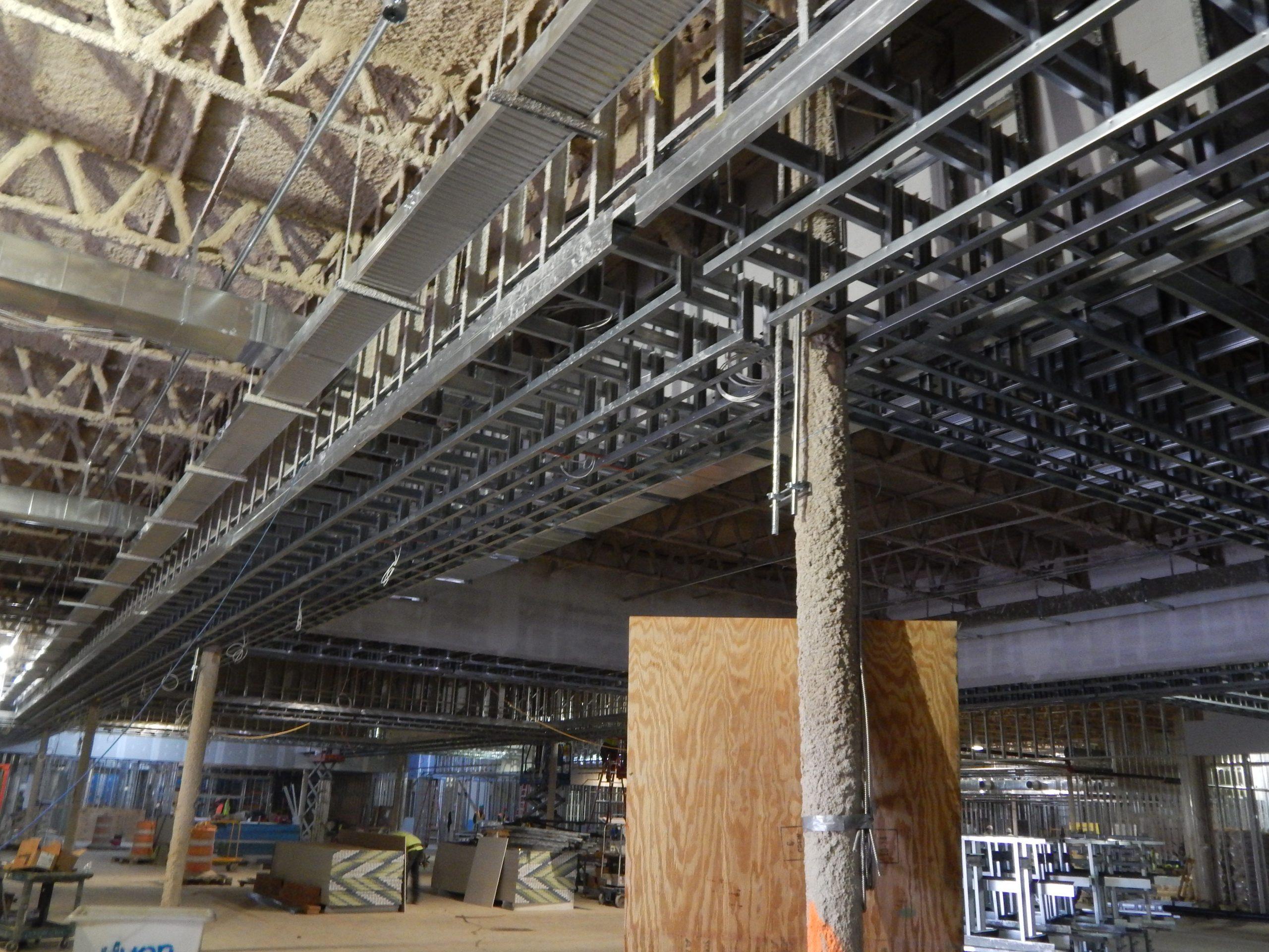 interior light gauge steel architectural framing