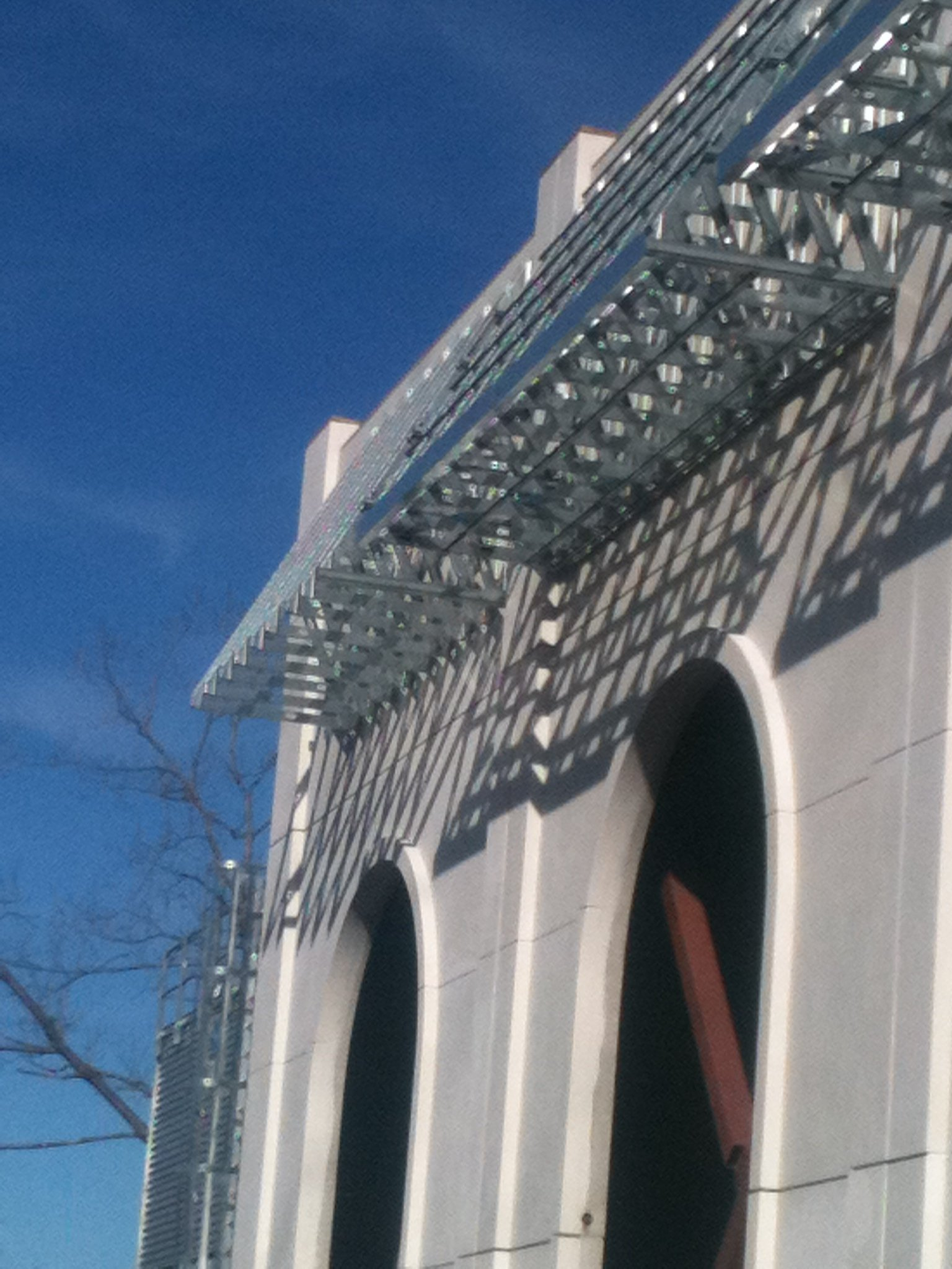 light gauge steel exterior facade