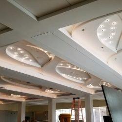 prefabricated light gauge metal ceiling fixture