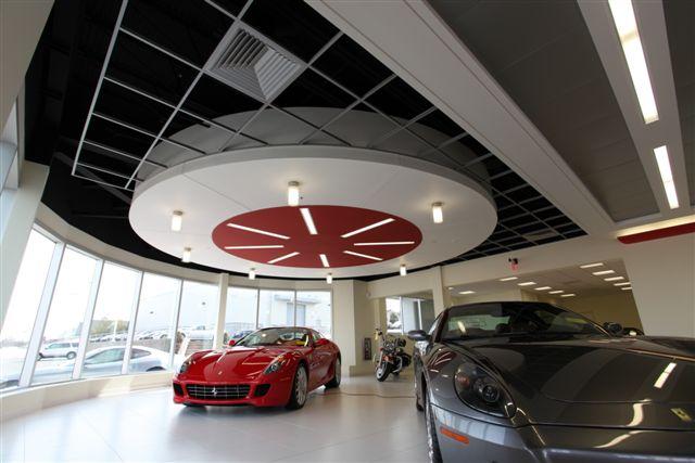 maserati radiused light gauge steel ceiling soffit
