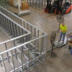 light gauge steel framing for resorts world casino