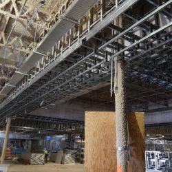light gauge steel framing at turning stone casino