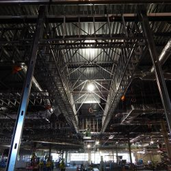 prefabricated steel framing at rivers casino