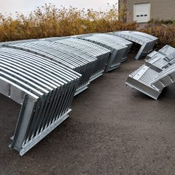 prefabricated steel mansard roof trusses