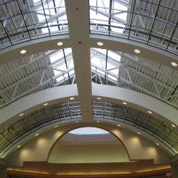 curved light gauge steel ceiling niagara fashion outlets