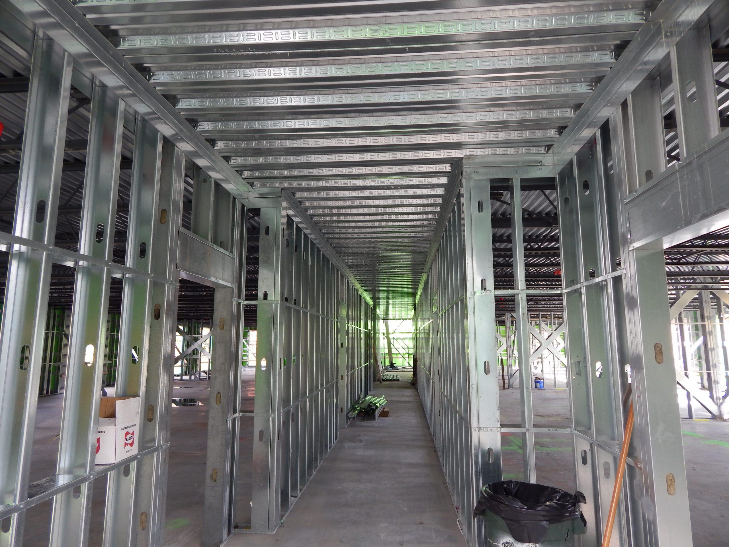 light gauge steel architectural framing