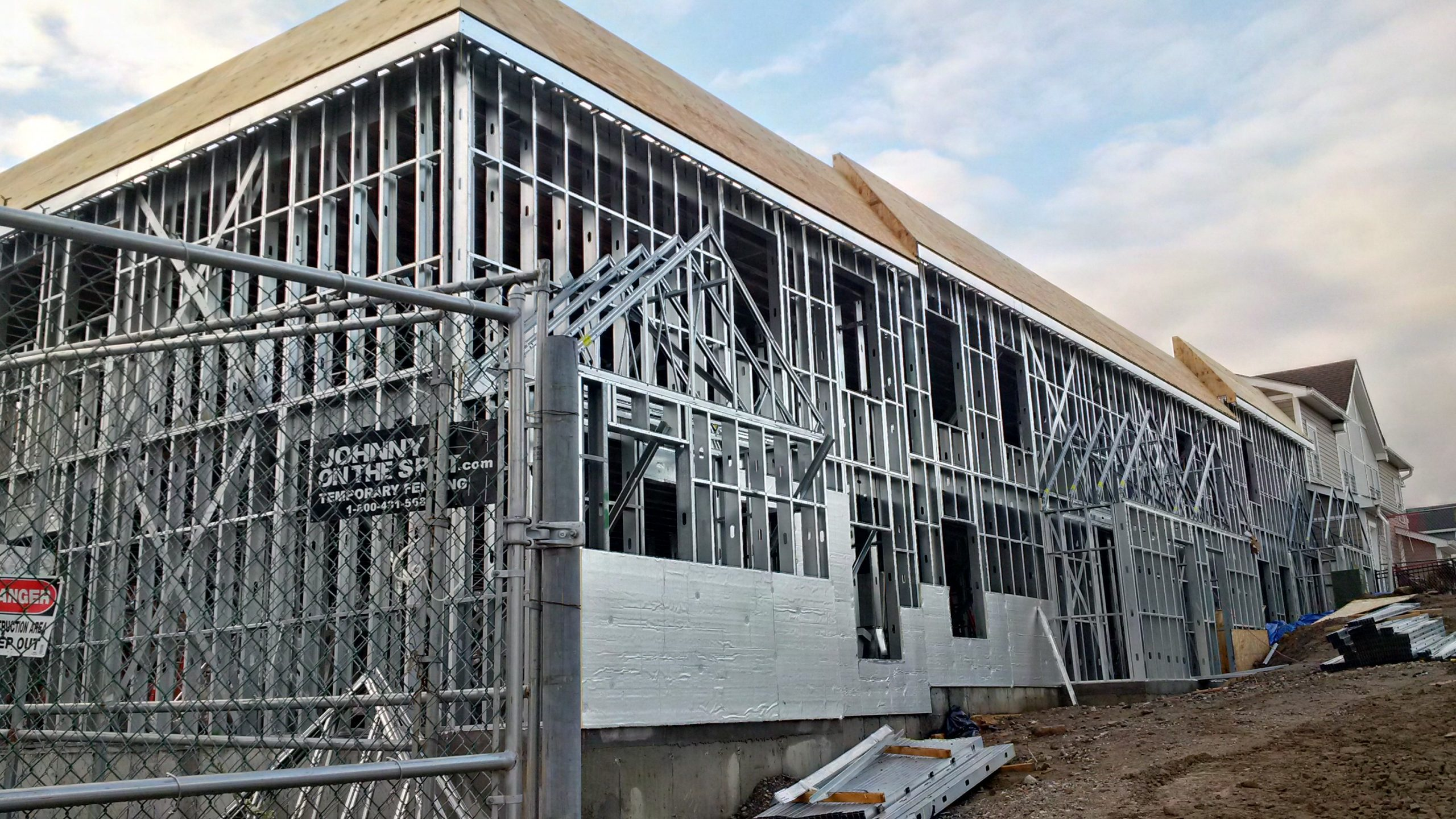 light gauge steel architectural framing prefabricated for heritage homes