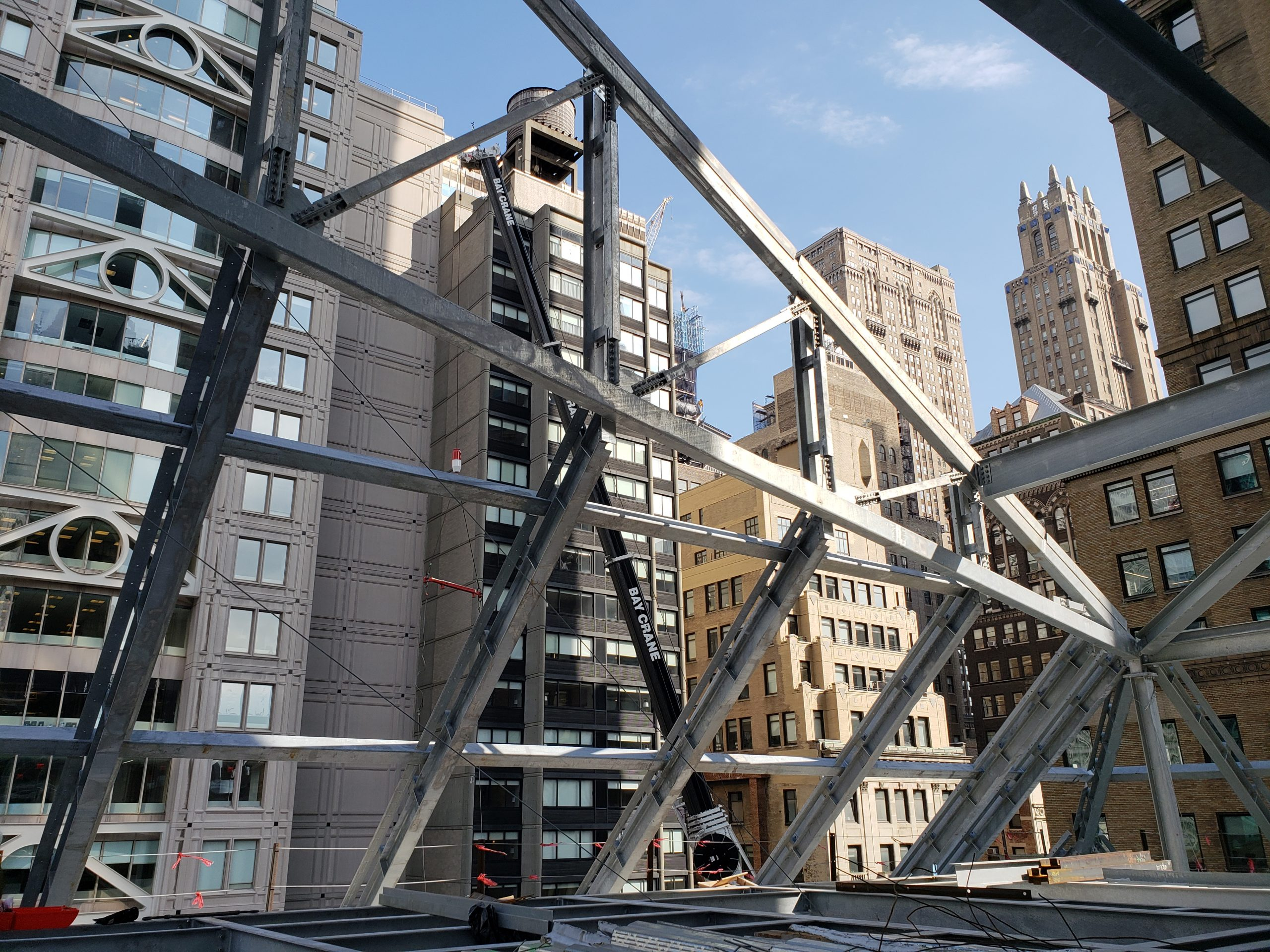 light gauge steel framing at the new york public library