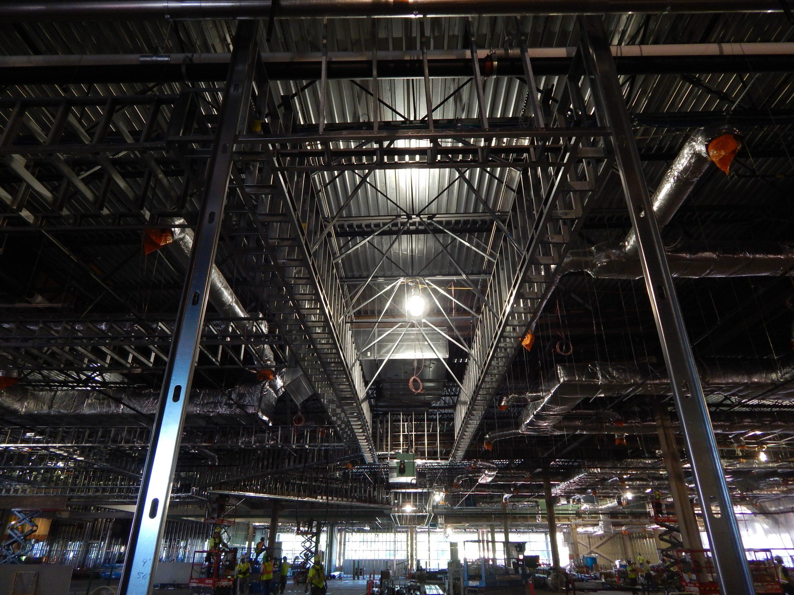 prefabricated steel framing at rivers casino