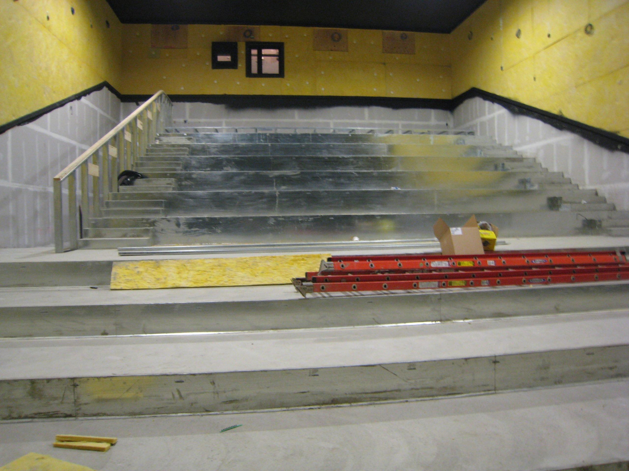 regal cinemas steel theater framing at walden galleria