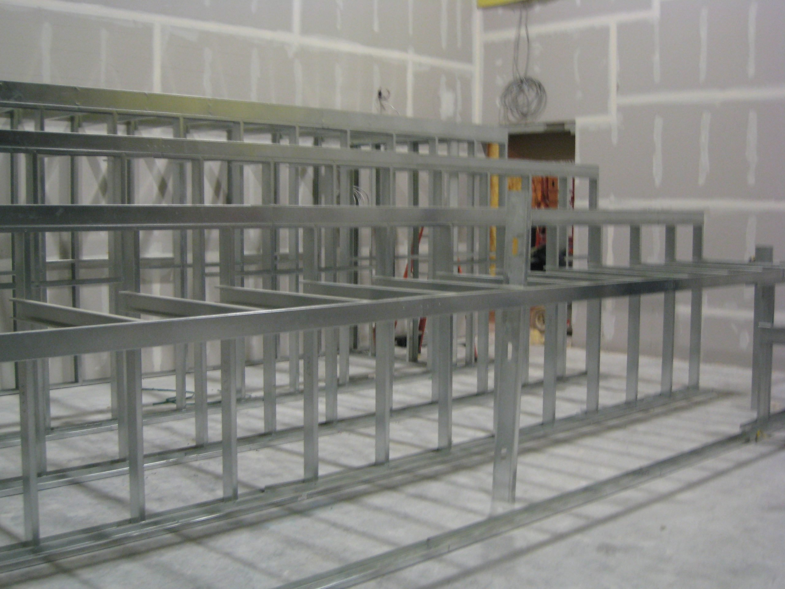 light gauge steel theater framing built by duraframe