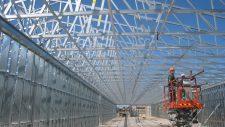 prefabricated light gauge steel stud trusses