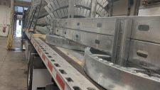 light gauge steel silo prefabricated for stew leonards
